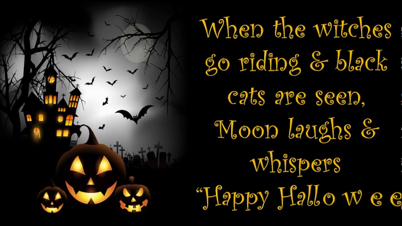 Happy Halloween 2016, Wishes, Greetings, Whatsapp Video, Message, Ecard 2