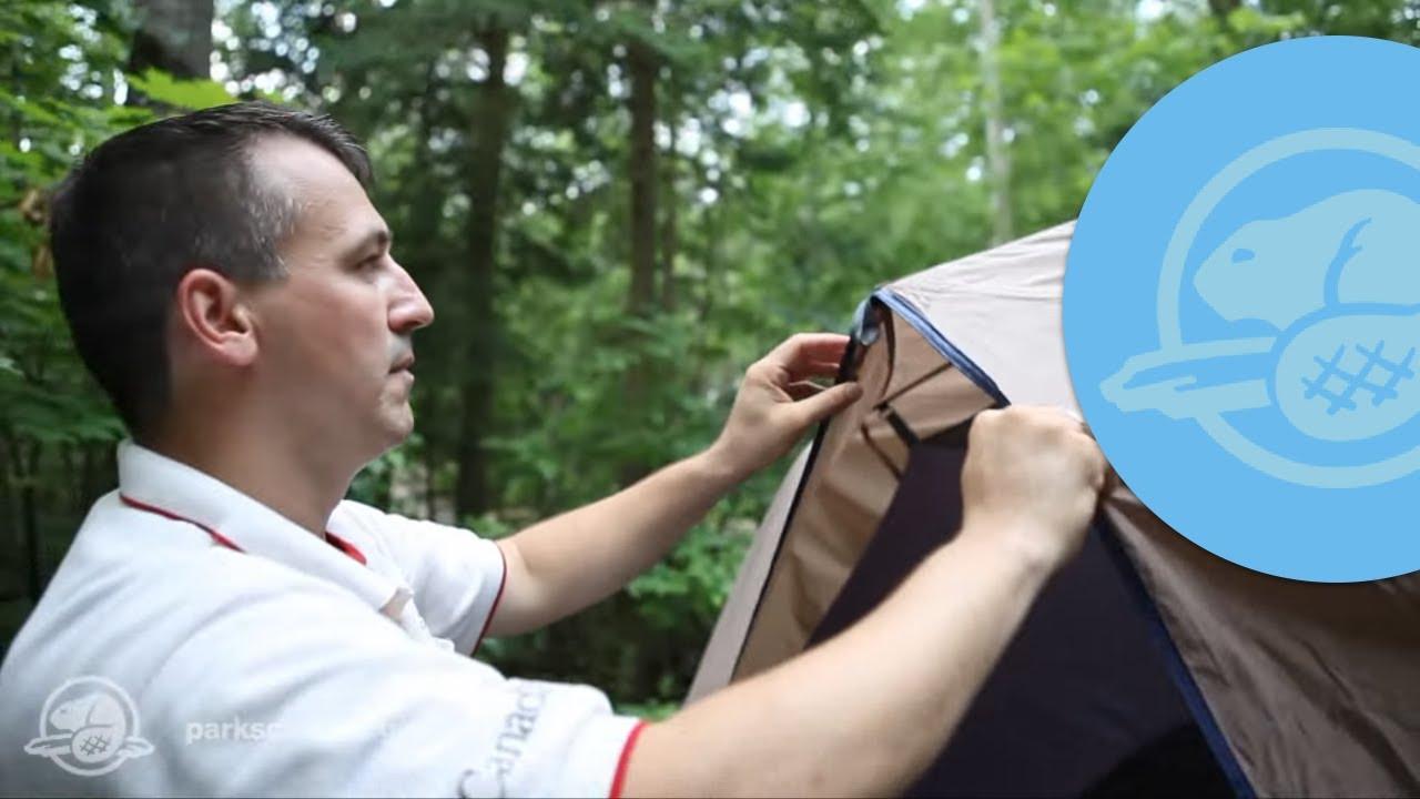 Learn to Set up a Tent & Learn to Set up a Tent - YouTube