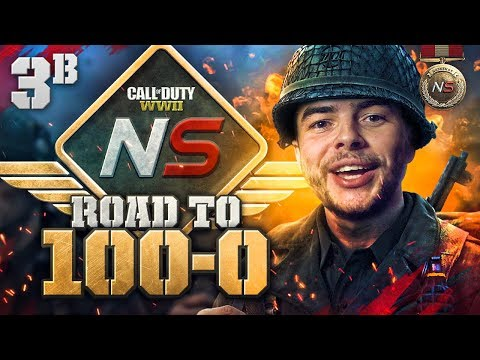 Road to 100-0! - Ep. 3B - My Best Game Yet! (Call of Duty:WW2 Gamebattles)