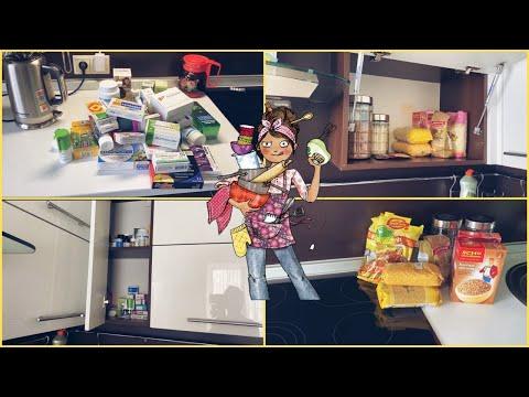 Расхламление на кухне Уборка в шкафах Мотивация на уборку Что у нас в аптечке
