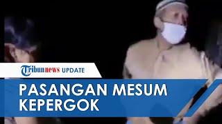 Viral Video Warga Pergoki Pasangan Mesum Tengah Malam Di Bawah Jembatan, Si Pria Tak Pakai Celana