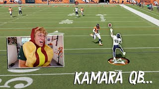 Kamara at QB for the Halloween Special..!?