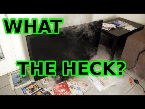 My TV blew up!