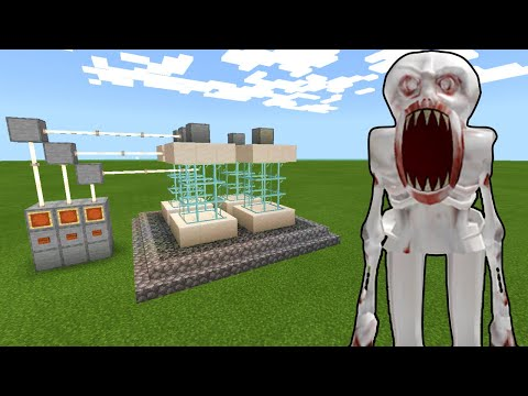 Minecraft PE : HOW TO MAKE A SCP-096 CAGE!