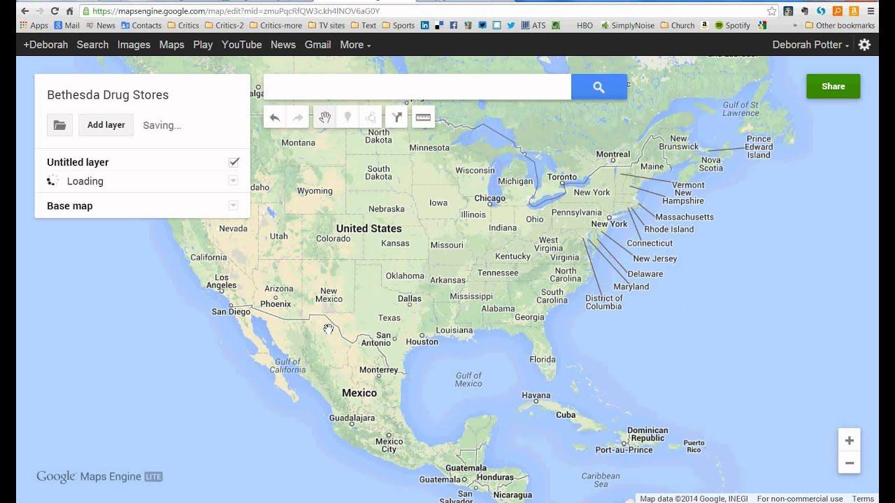 Google Maps Engine Tutorial - YouTube