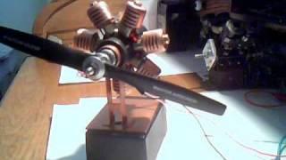 Electric piston engine(radial).wmv