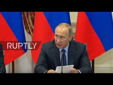 LIVE: Putin chairs Council for Interethnic Relations in Astrakhan