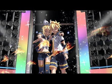 [MMD] Rin y Len Kagamine Electric Angel