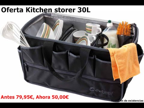 kitchen storer 30l outwell almacenamiento de menaje para el camping - Outwell Sudbury Kitchen Table