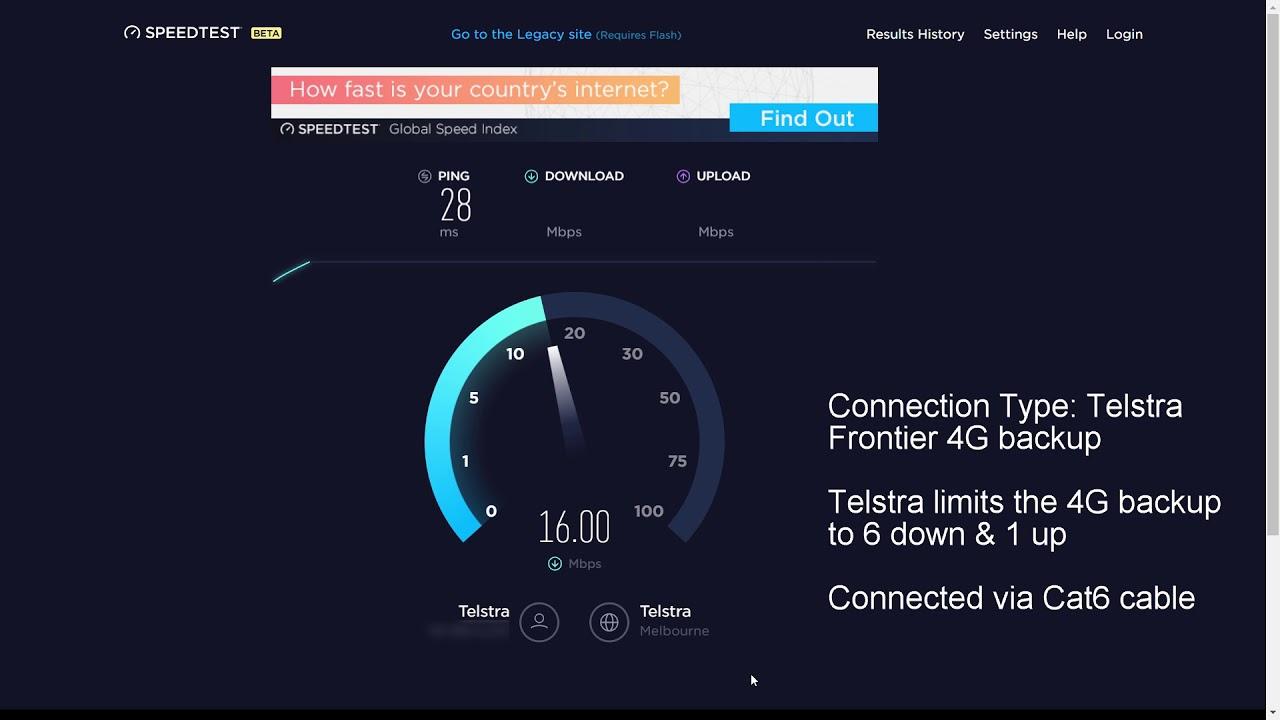 Speed Test Frontier >> Telstra Gateway Frontier 4g Backup Vs Adsl2 Speed Test