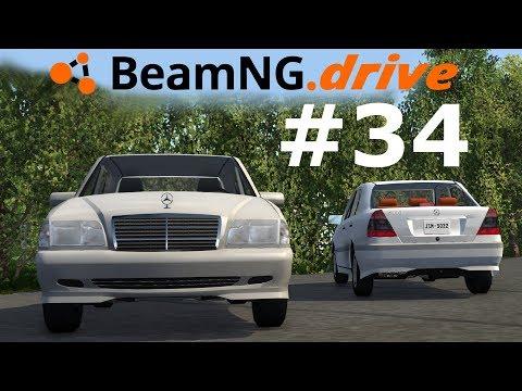 BeamNG.drive (#34) - Mercedes-Benz W202 🚘
