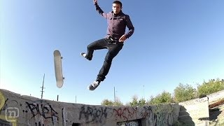 Brutal Skateboarding Slam: Zach Doelling vs A Pebble On NKA Project