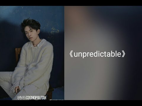 【TFBOYS 】易烊千璽 全新單曲《Unpredictable》動態字幕