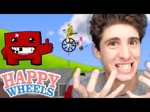 SUPER HAPPY WHEELS BOY! - Happy Wheels [Ep.170]