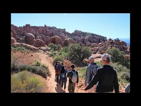 Fiery Furnace Hike - Arches National Park,...