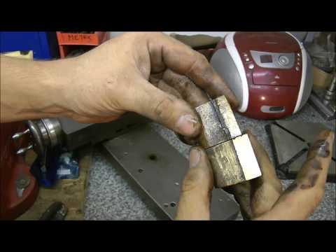colchester lathe cross slide repair part one
