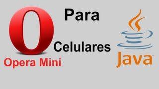 Opera Mini para celulares Java
