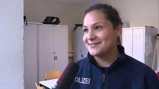 Polizei sucht Nachwuchs und gibt Einblicke in Ausbildungstraining