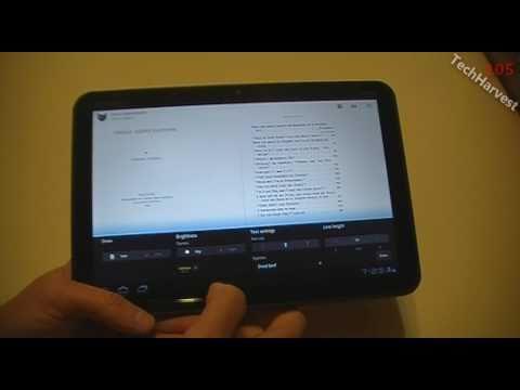 Motorola XOOM: Music Player & eReader