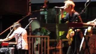 Spoon - My Mathematical Mind, live @ Dundas Square in Toronto. June 21, 2014