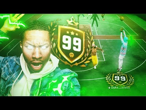99 OVERALL PURE STRETCH SENT ME HIS BEST JUMPSHOT ON NBA 2K19! BEST JUMPSHOT EVER ON NBA 2K19