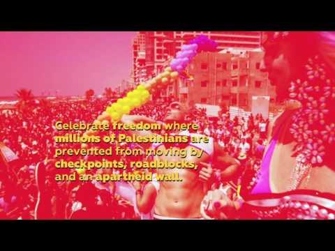 Celebrate Freedom in a Warzone - Boycott Tel Aviv Pride