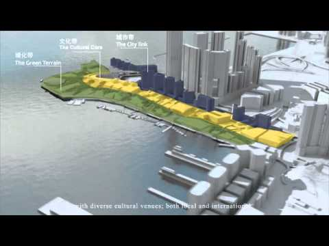 West Kowloon Cultural District's Conceptual Plan Option by Rocco Design Architects Ltd. (English)
