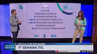 Se viene una nueva edición de la Semana TIC en Córdoba