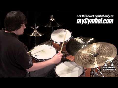 "Paiste 20"" Signature Traditional Medium Light Swish Cymbal (4302520-1012213J)"