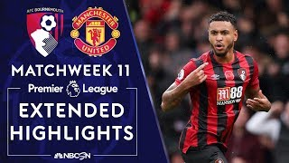 Bournemouth v. Manchester United | PREMIER LEAGUE HIGHLIGHTS | 11/02/19 | NBC Sports
