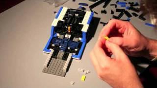 Lego Lamborghini Time Lapse Build