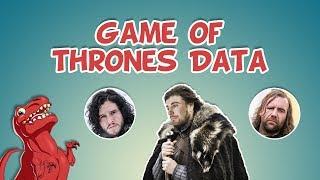 Game of Thrones Data Visualization #GameOfThrones #GoT #DataViz