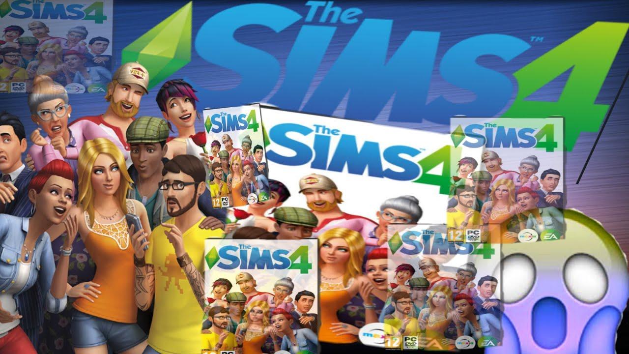 Обзор на диск THE SIMS 4 - YouTube