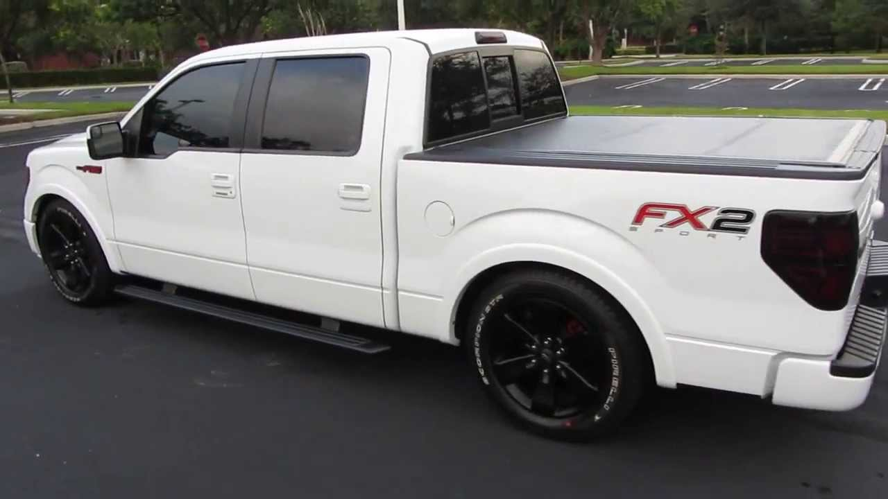 custom 2012 ford f 150 fx2 sport supercrew youtube. Black Bedroom Furniture Sets. Home Design Ideas