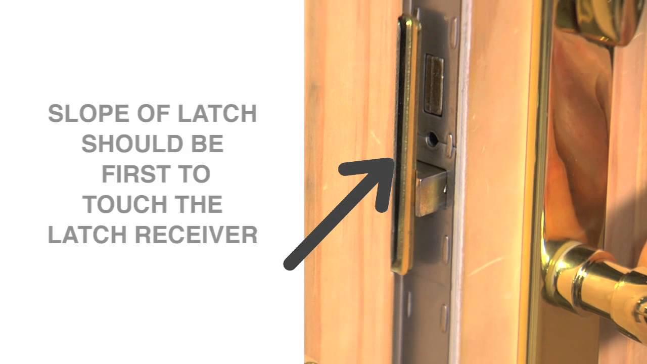 changing the handing of the latch on a hinged patio door andersen windows