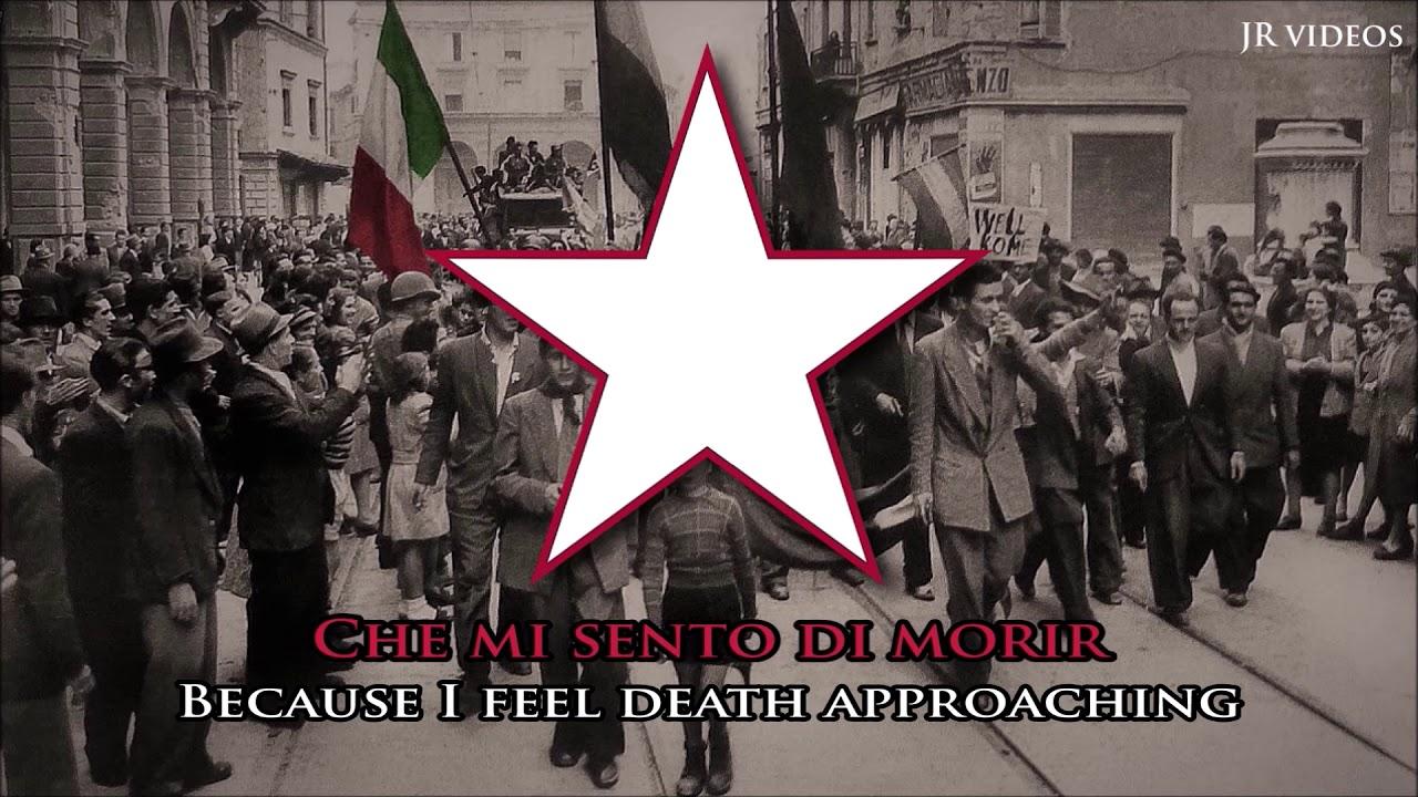 Bella Ciao Italian Partisan Song It En Lyrics Youtube