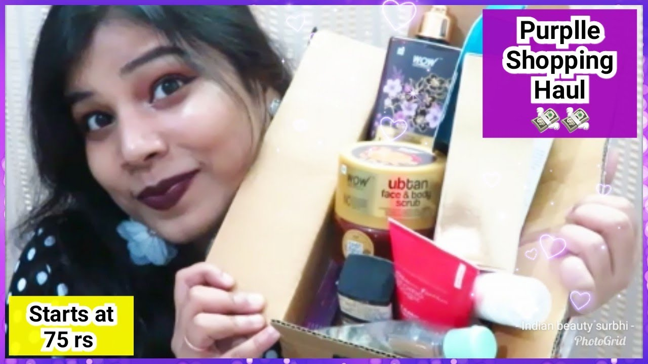 Huge Purplle Haul | Starts at 75 rs | Worth Buying Products | My Recommendations