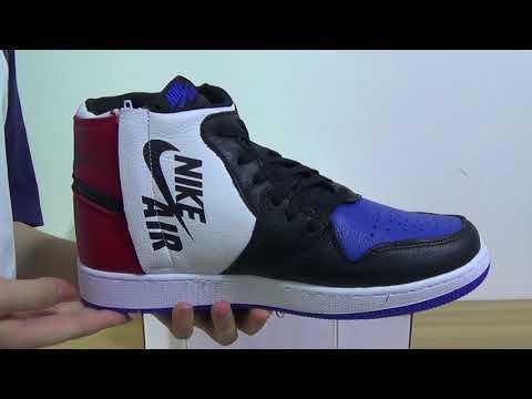 ecf1e399881279 Authentic Air Jordan 1 REBEL XX TOP 3 - YouTube