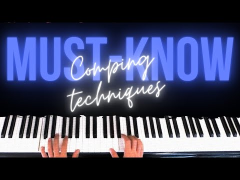 8 Exercises for Piano Comping Techniques - Pop, Jazz, Latin, R&B │Jazz Piano Lessons #14