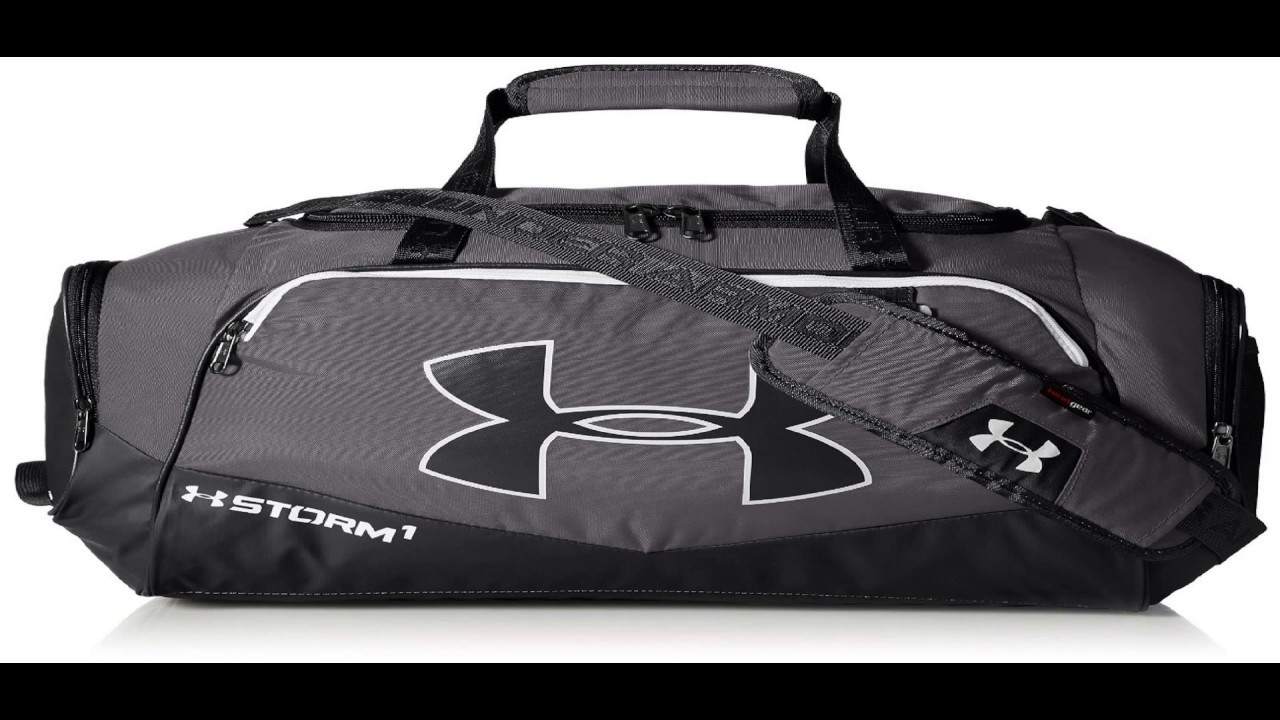 bc4d0bcfdfd2 Padded Top Grab Handle Under Armour Storm Undeniable II Small Duffle Bag!