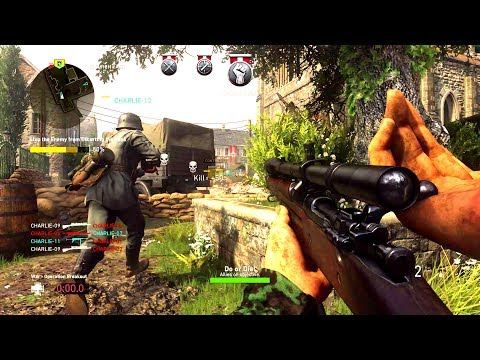 Call of Duty: WW2 Gameplay SANS Commentary (COD: World War 2 Multiplayer)