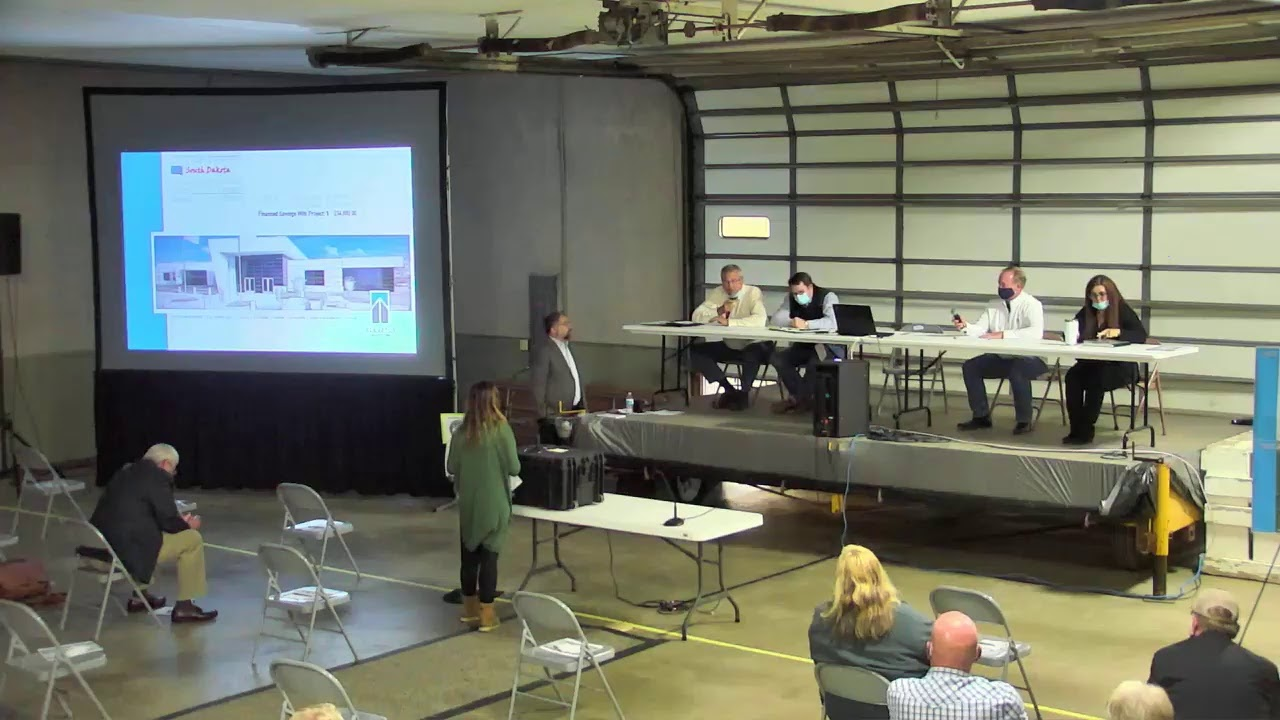 County Commissioners host informational meeting for Public Safety Center