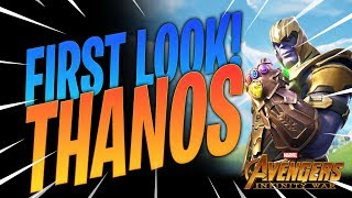 Fortnite: Battle Royale - THANOS FIRST LOOK + ABILITIES