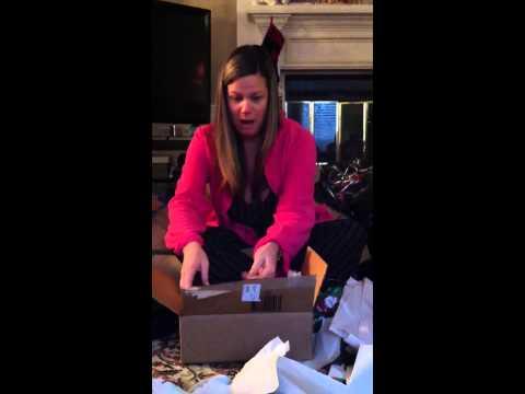 Mom getting Christian Louboutins for Christmas 2012
