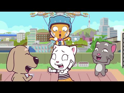 download Talking Tom and Friends Minis - Episodes 21-24 Binge Compilation