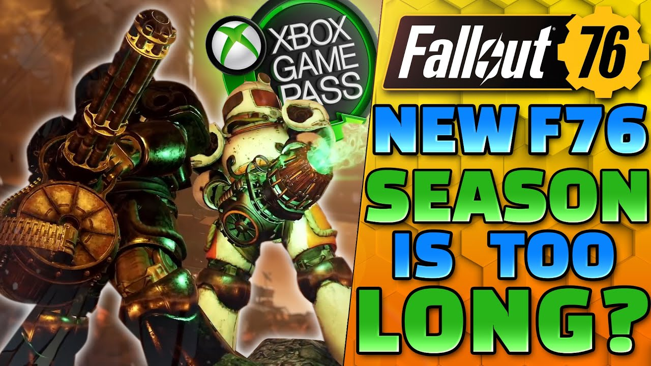 Fallout 76 Season CONTROVERSY & Fallout 76 on Xbox gamepass SOON! - Fallout 76 News Update