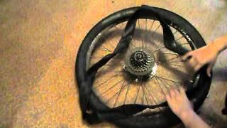 Как разбортировать  и забортировать колесо на велосипеде(https://m.vk.com/id221283329., 2016-04-07T20:55:28.000Z)