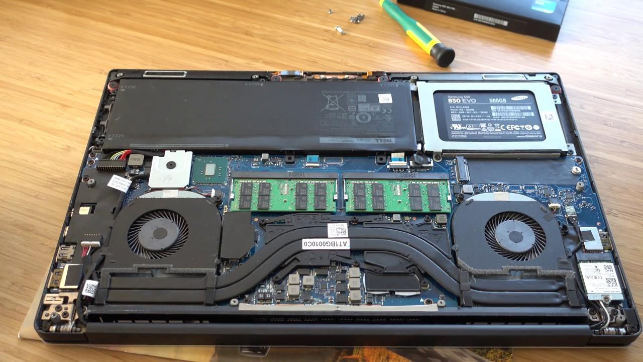 Dell Precision 5510 XPS 15 ssd hard drive upgrade NVME V-Nand Samsung 950  Pro M 2