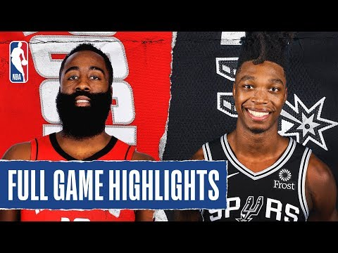 SPURSWATCH - Watch Highlights Of Spurs Double-OT Victory Over Rockets