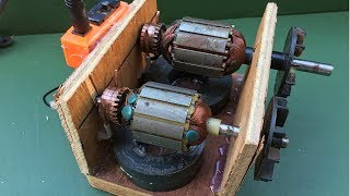Universal Motors and Electric Rotor - How to Easy to implement work at home